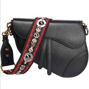 Handbags - Women Top-Handle Designer Saddle Shoulder bag